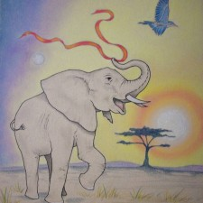 Sarah's Elephant (A Bright Future)